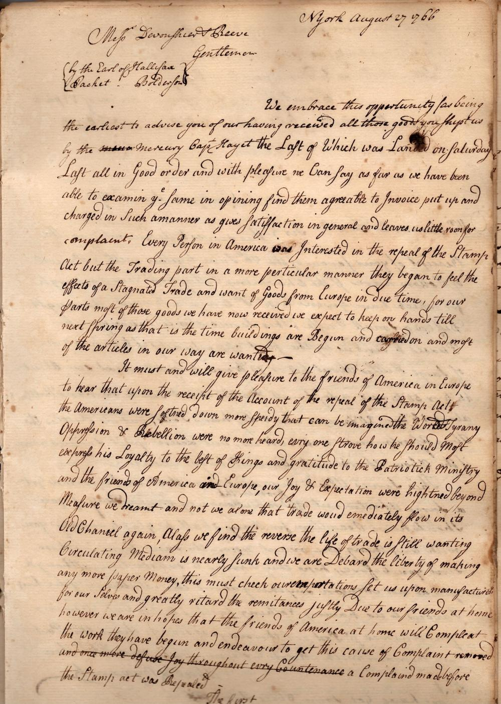 Iron Merchants Archive 150 Items and Journals Related to Stamp Act and Slavery, c. 1765-1825 Fantastic!