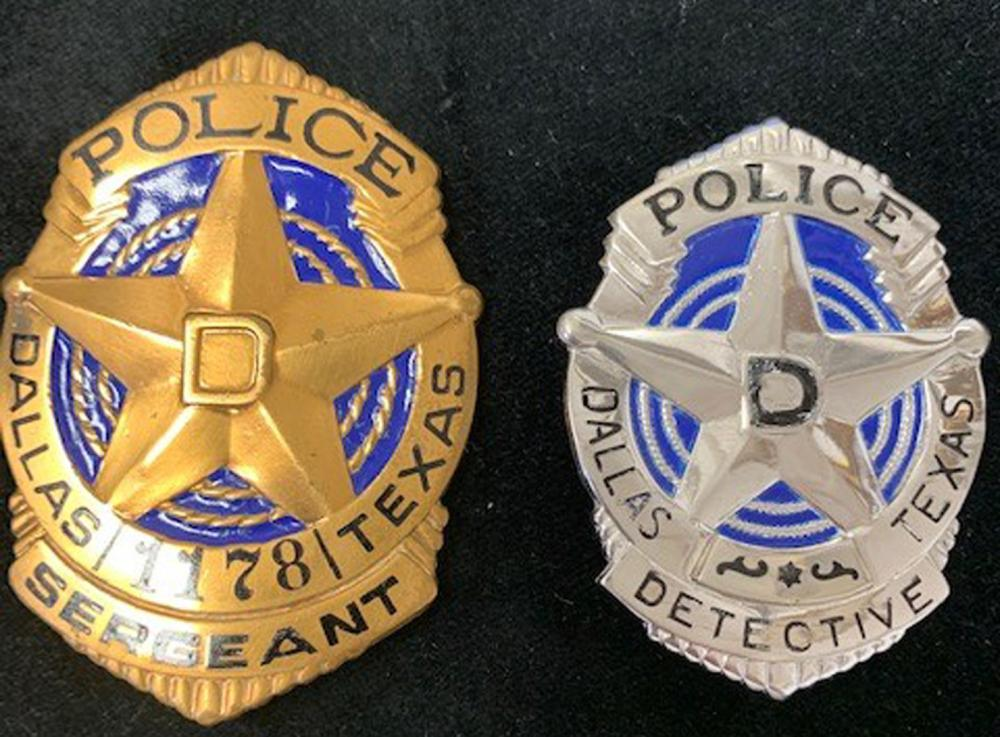 Badges and Uniform Insignia of Officer Who Captured Lee Harvey Oswald