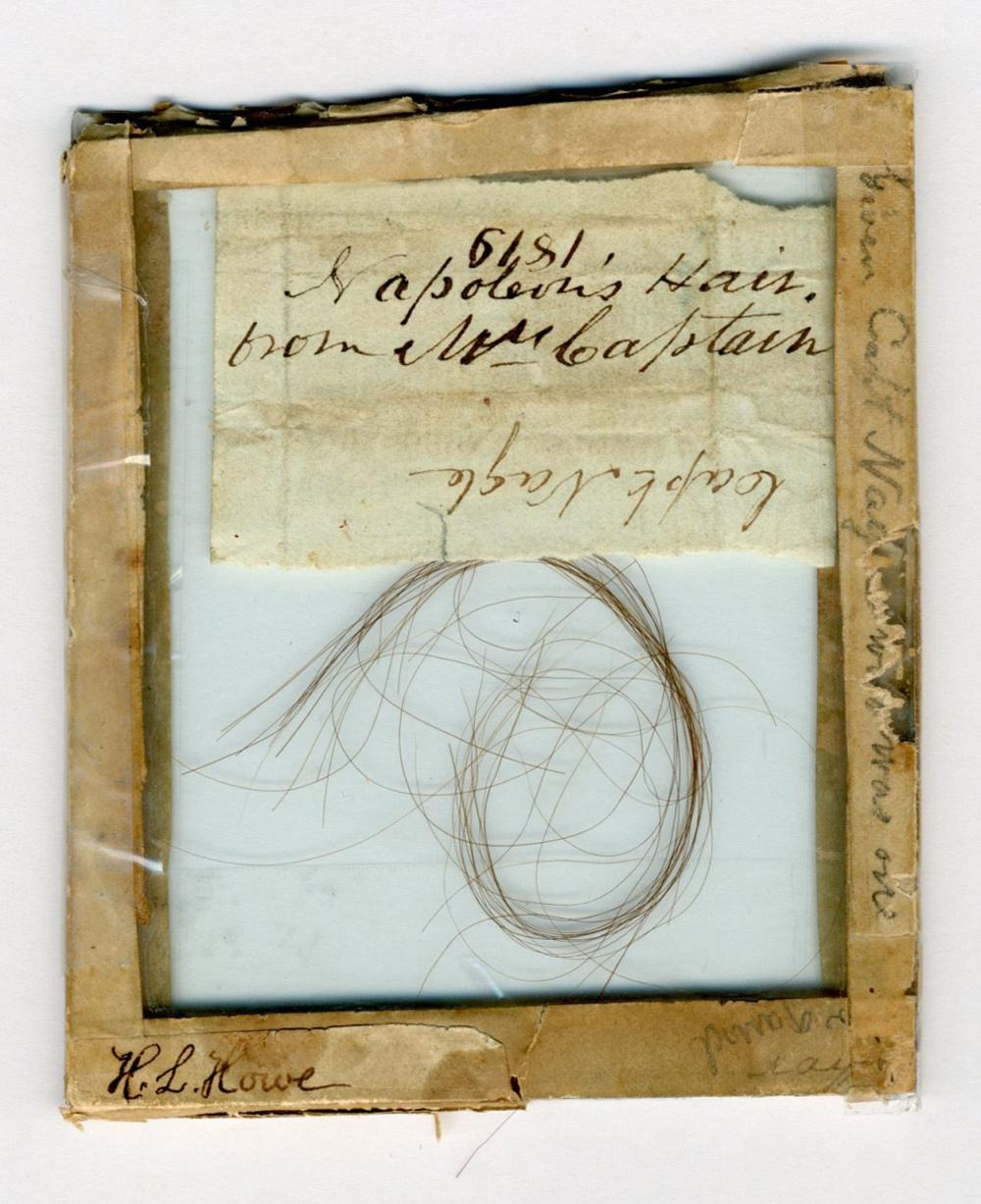 Huge Lock of Napoleon's Hair Collected Around 1819, Over 50 Strands!