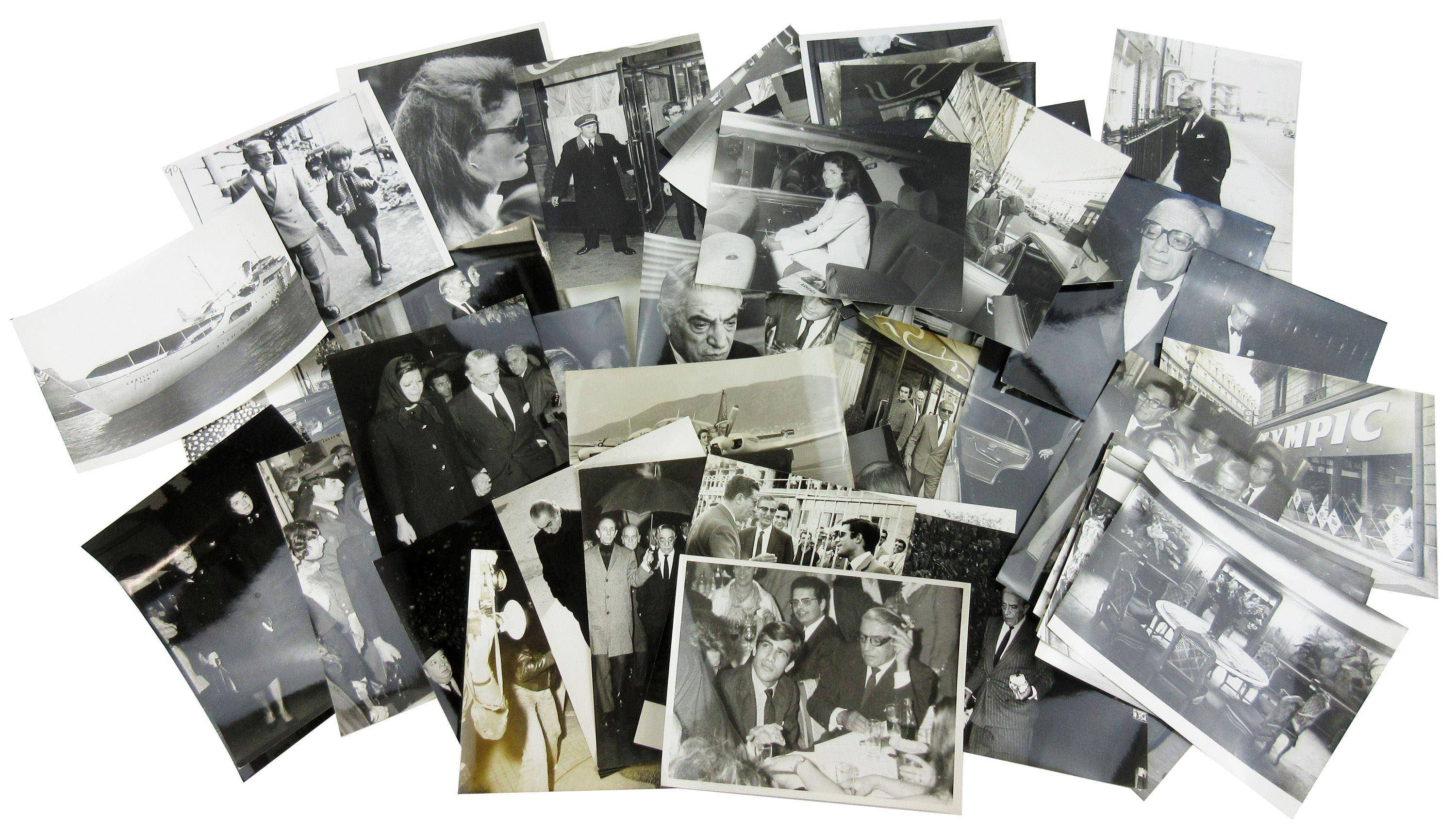 Jackie & Aristotle Onassis Archive of 50+ Photos, Many Vintage