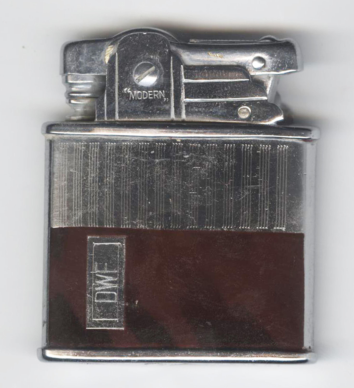 D.W, Ferrie, JFK Assassination Conspirator's Personal Cigarette Lighter