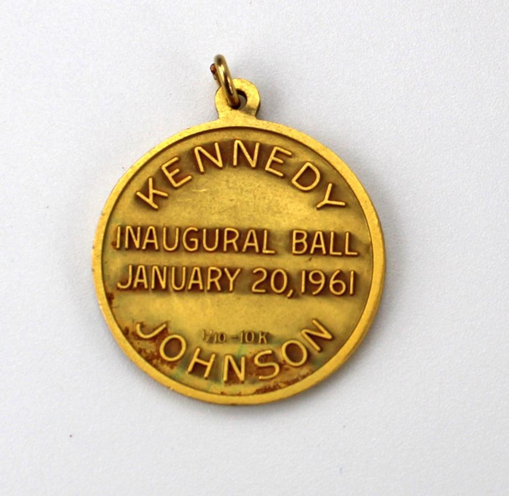 [John F. Kennedy] Inaugural Medallion & Assassination Ephemera & Replicas