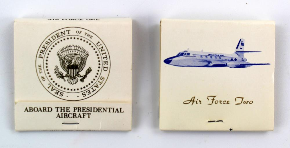 [John F. Kennedy] Presidential Cigarettes & Matches with Cabana Lighter