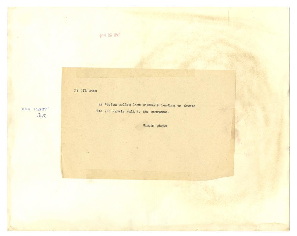John F. Kennedy 9 Assassination and Funeral Original Vintage Photographs