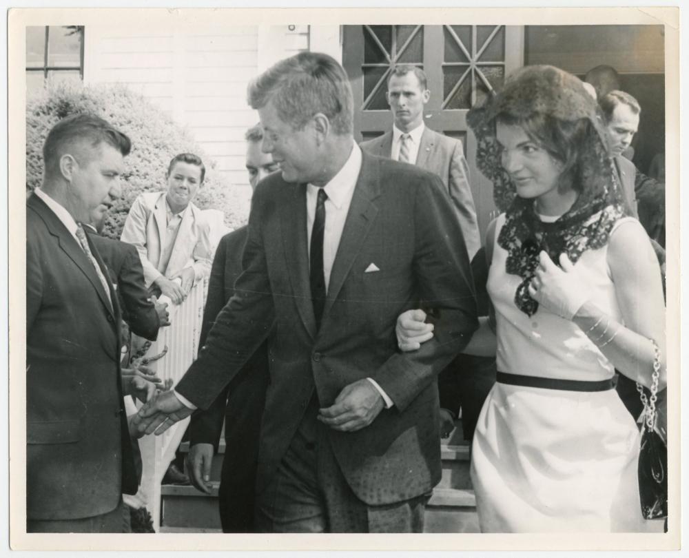 John F. Kennedy Rare Press Photos & Grave Site Relic?