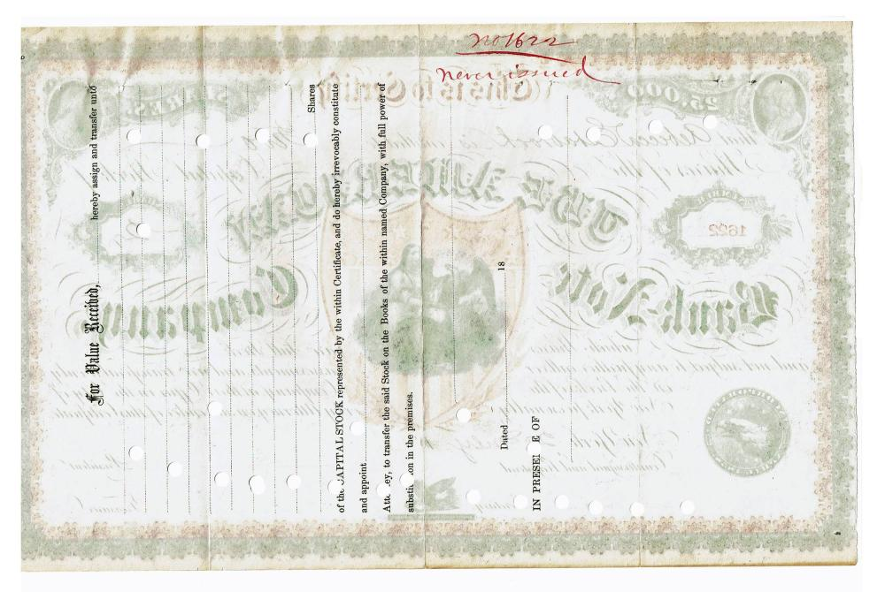 American Banknote Company Vintage Stock Certificate Extremely Rare