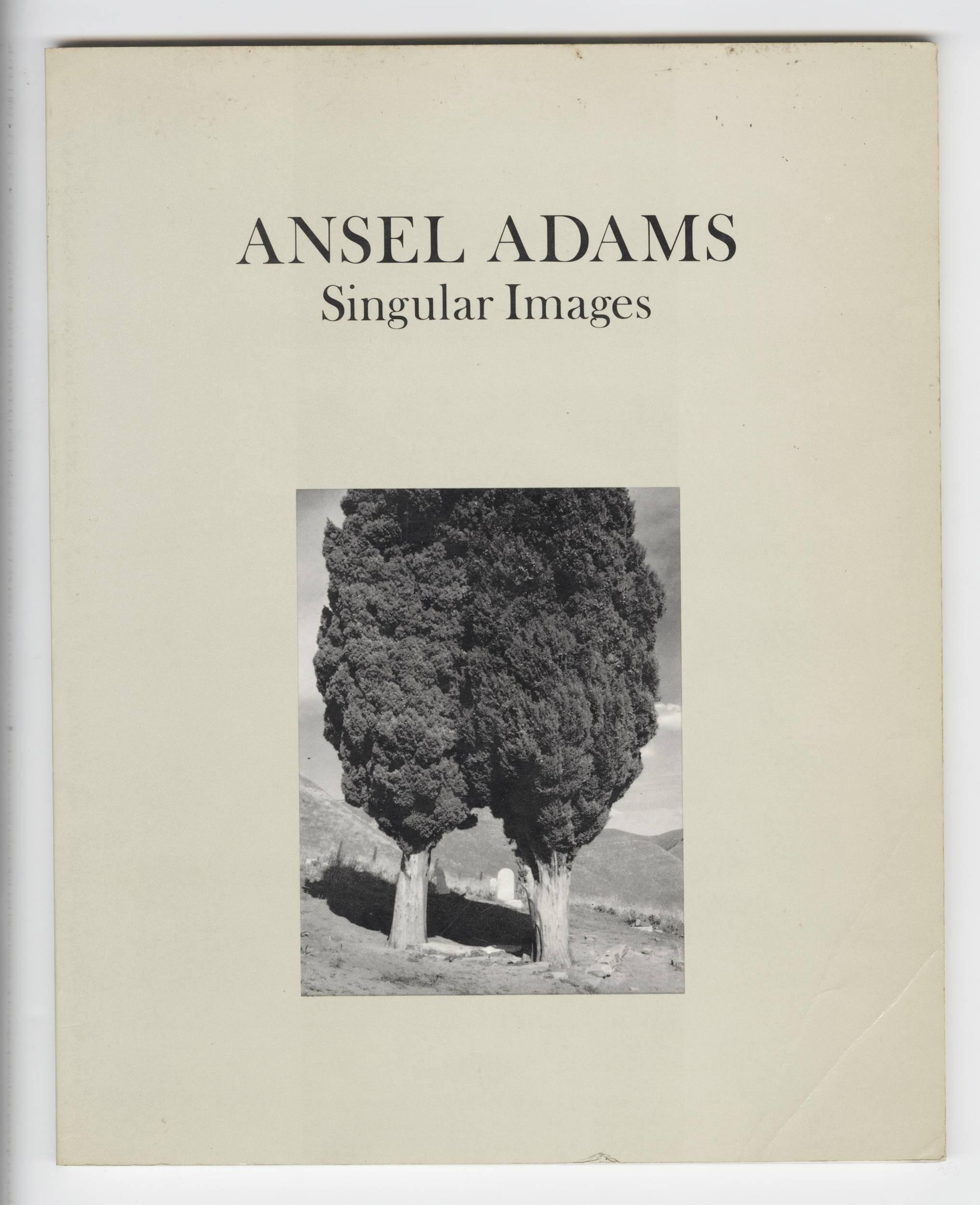 "Ansel Adams Signed ""Singular Images"""