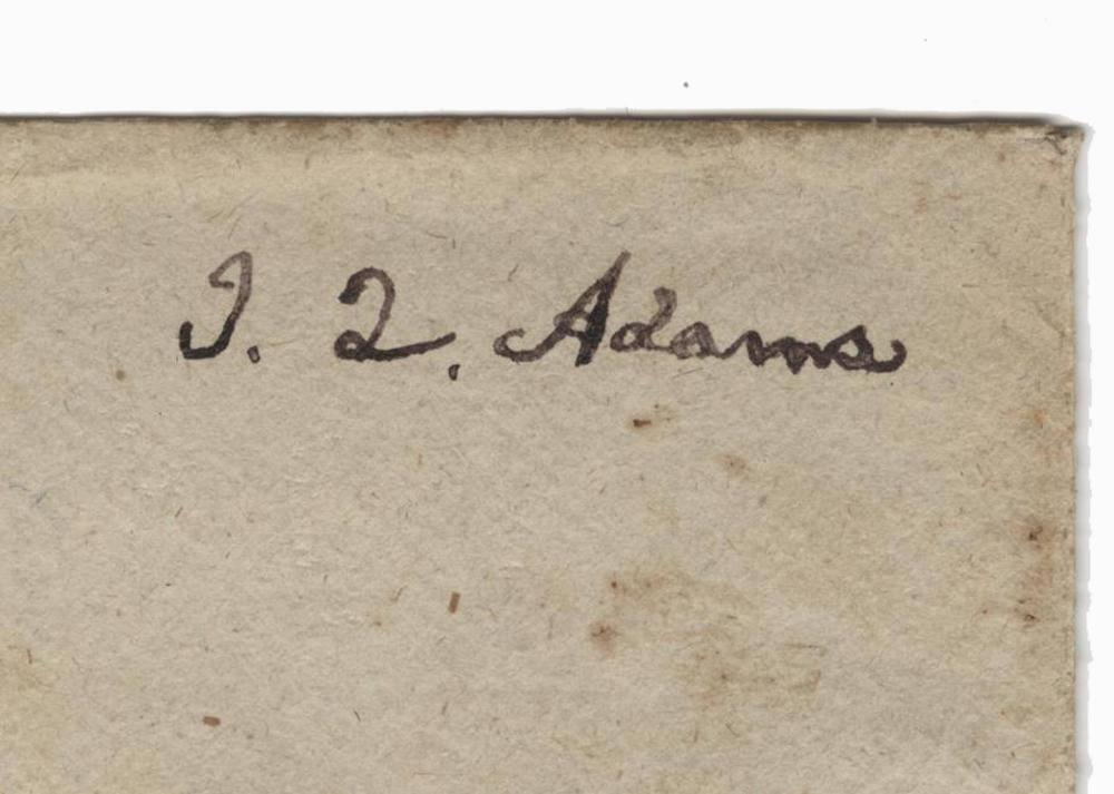 J.Q. Adams Superb Early Free Frank