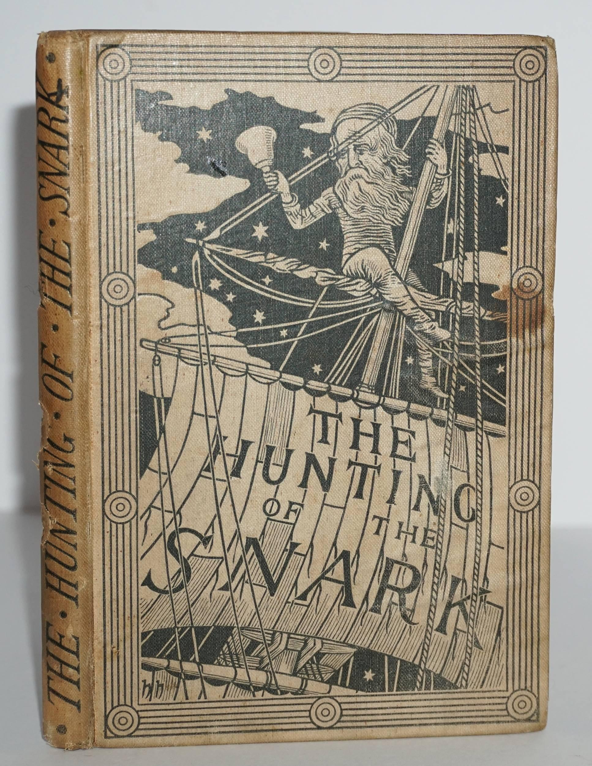 Lewis Carroll, The Hunting of the Snark, First UK Printing