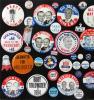 Image 3 for Lyndon B. Johnson & Anti-Goldwater Campaign Pinbacks & Memorabilia, 55+ Pcs