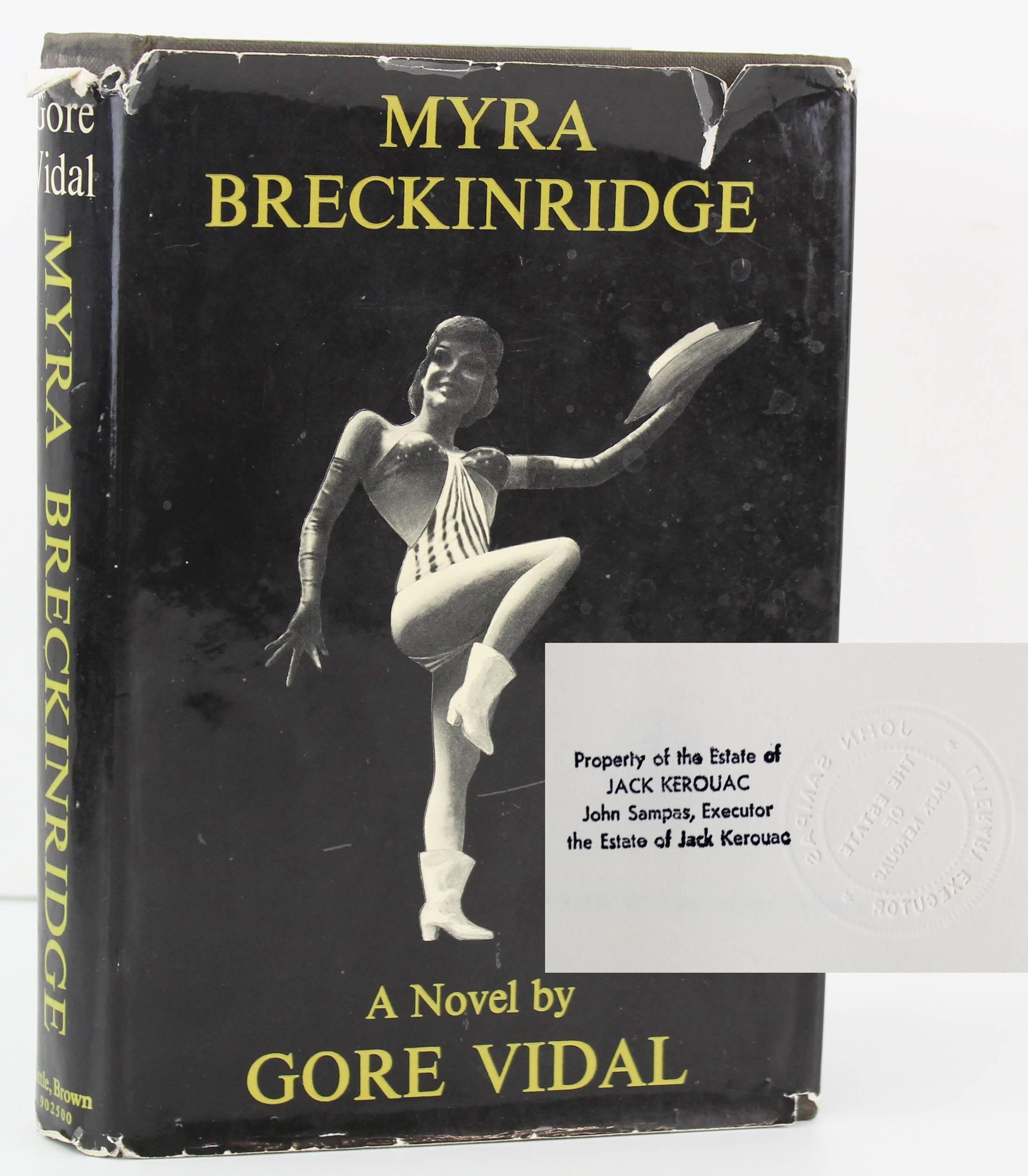 "Kerouac Personally Owned First Print ""Myra Breckinridge"", Estate Provenance and Legendary Significance"