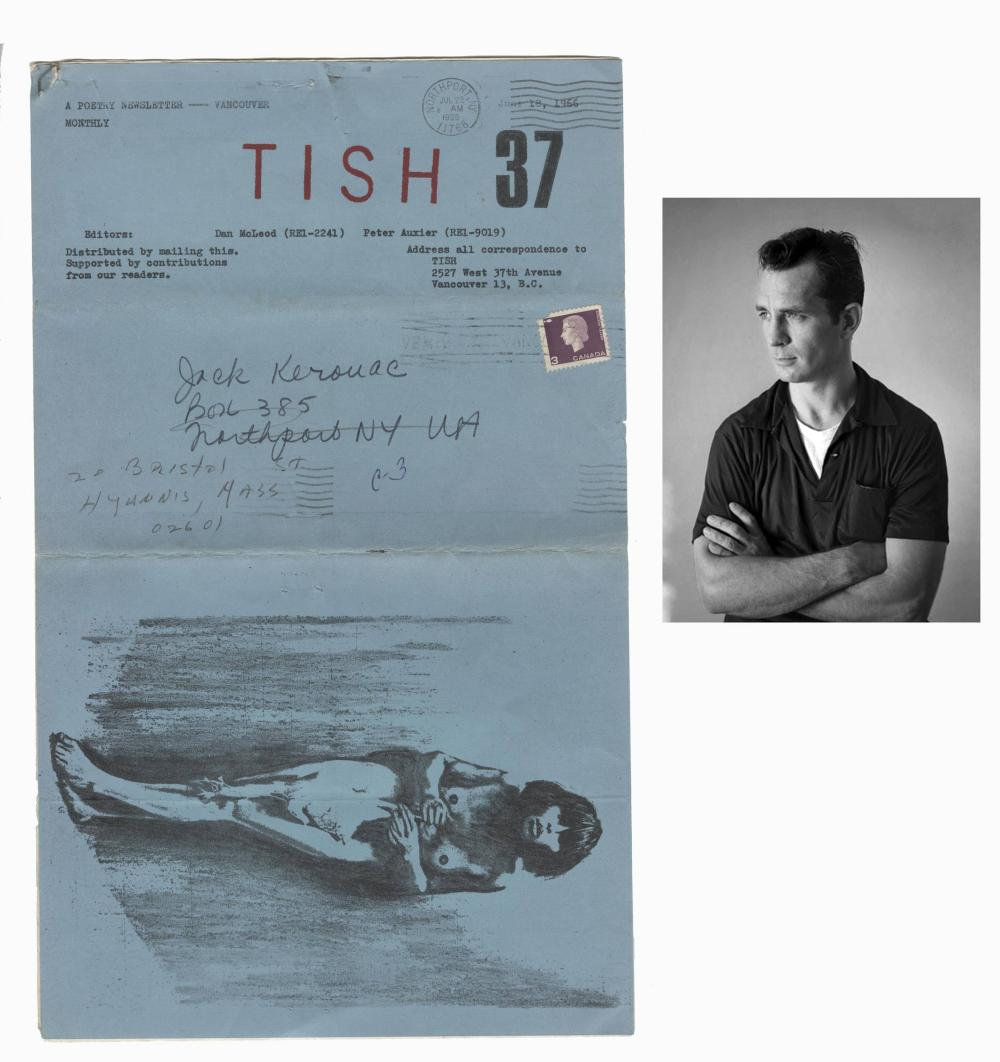 "Jack Kerouac's Personal Copy of ""TISH,"" an Underground Poetry Newsletter"
