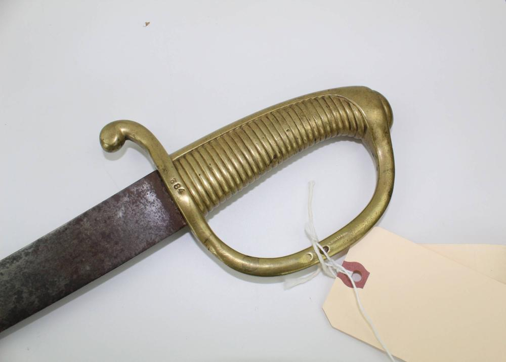 Tad Lincoln's Navy Sword, Requested Just Days Before His Father's Assassination, Ex Forbes