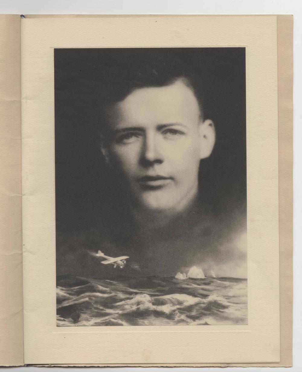 Charles Lindbergh Program Commemorating his Flight
