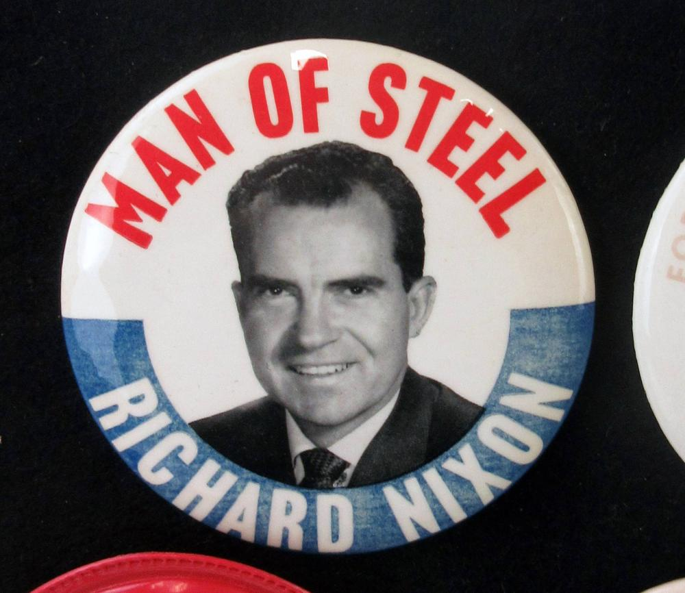 Early Richard Nixon Campaign Pinbacks & Memorabilia, 90+ Pcs