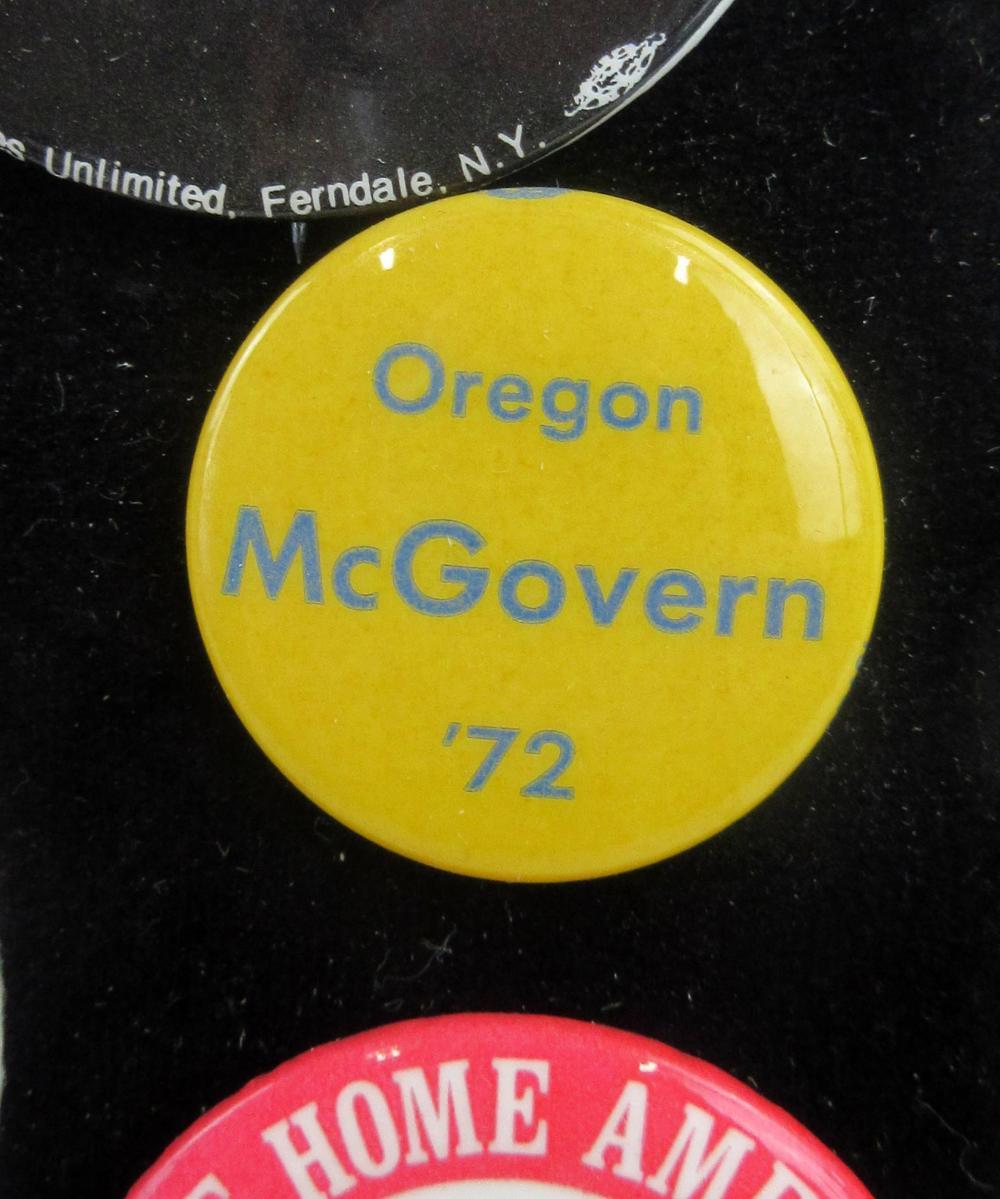 George McGovern & Anti-Nixon Campaign Pinbacks & Memorabilia, 85+ Pcs