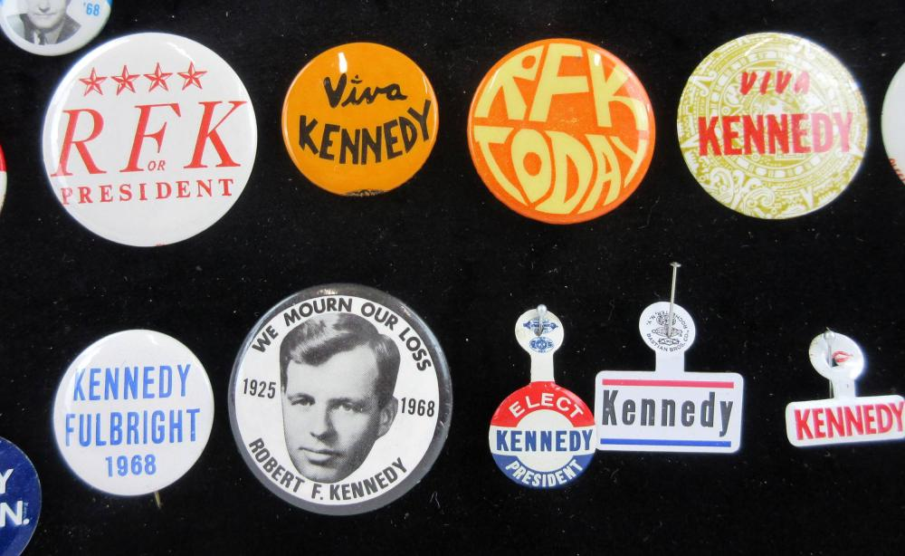 1968 Presidential Election Campaign Pinbacks & Memorabilia, 90+ Pcs