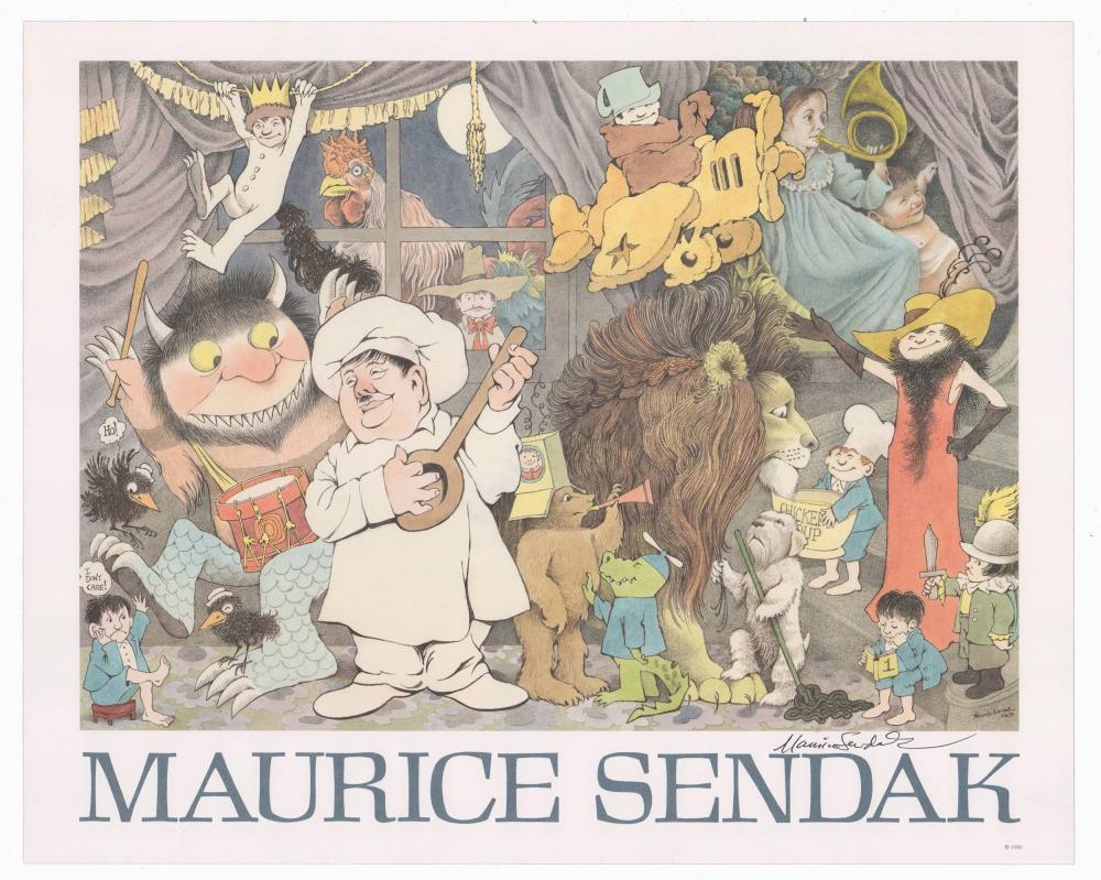 "Maurice Sendak ""Celebration of Maurice Sendak"", Signed Poster"