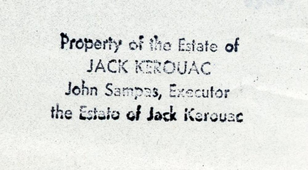 Jack Kerouac's Personal Copy of