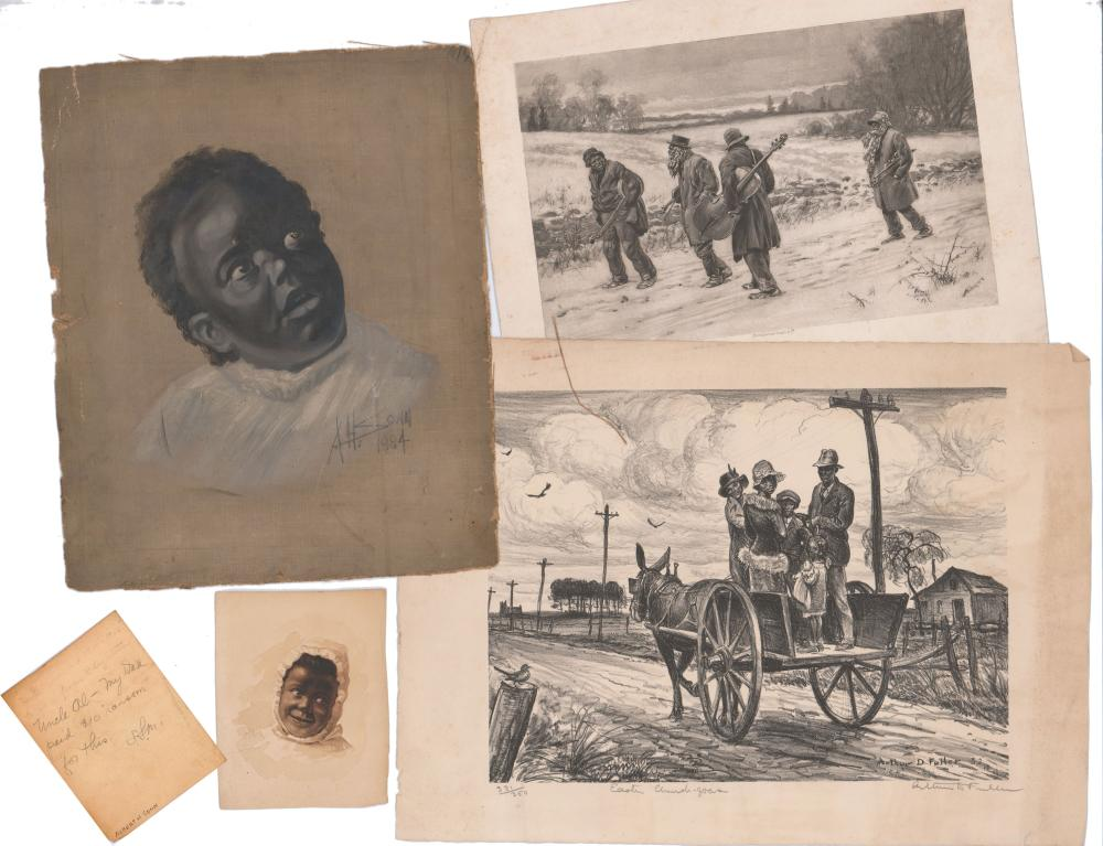Lovely Archive of African American Art, Consisting of Originals, Limiteds and Prints