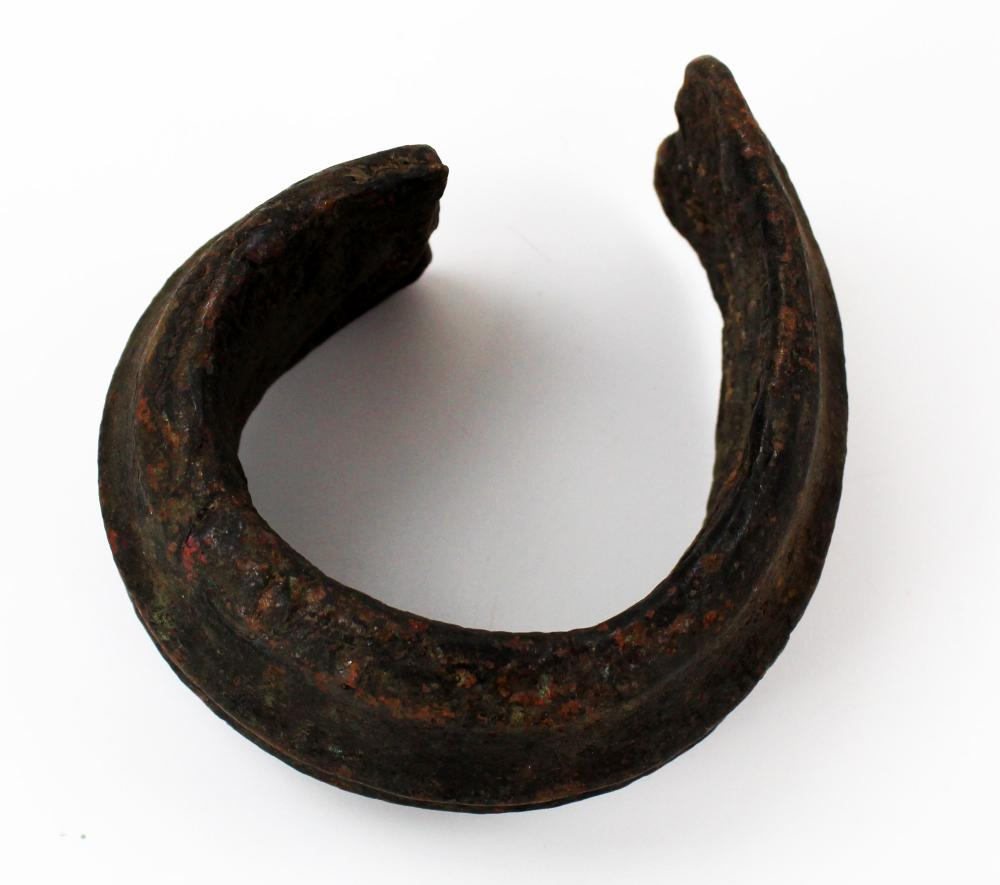 Large and Rare Brass Arch Currency, Used In Transatlantic Slave Trade