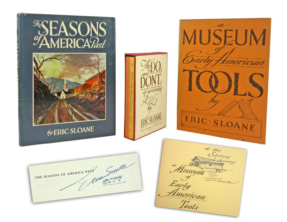 Group of Signed Books by Eric Sloane