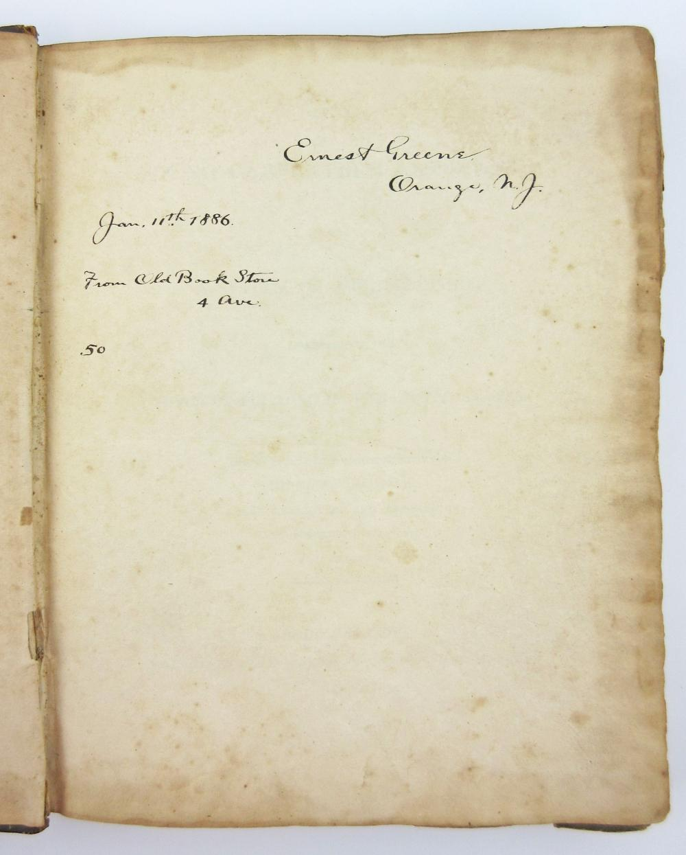 The Young Carpenter's Assistant, 1st Ed. of the Second Book on Architecture Ever Published in America