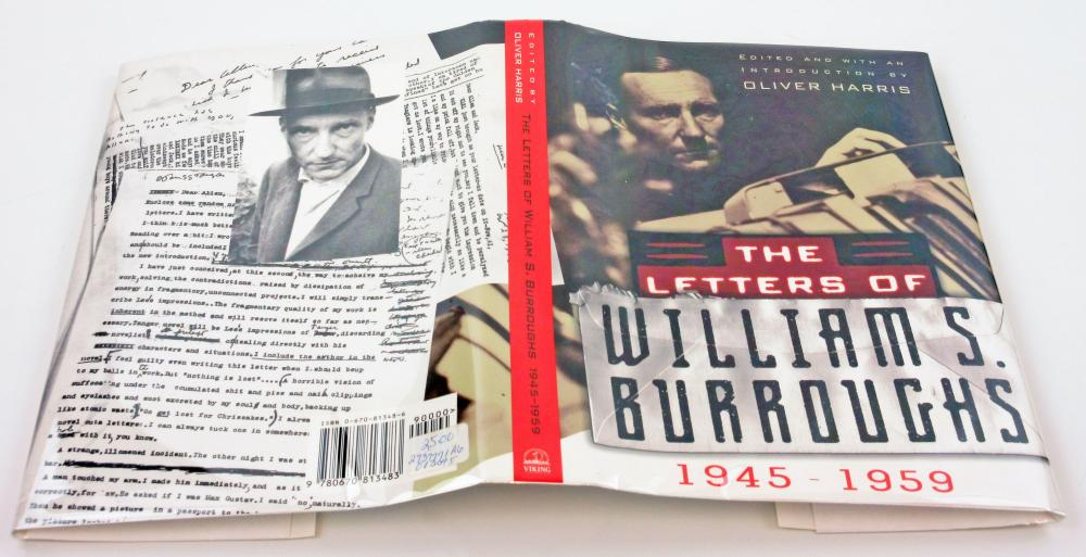 The Letters of William Burroughs, Signed First Printing