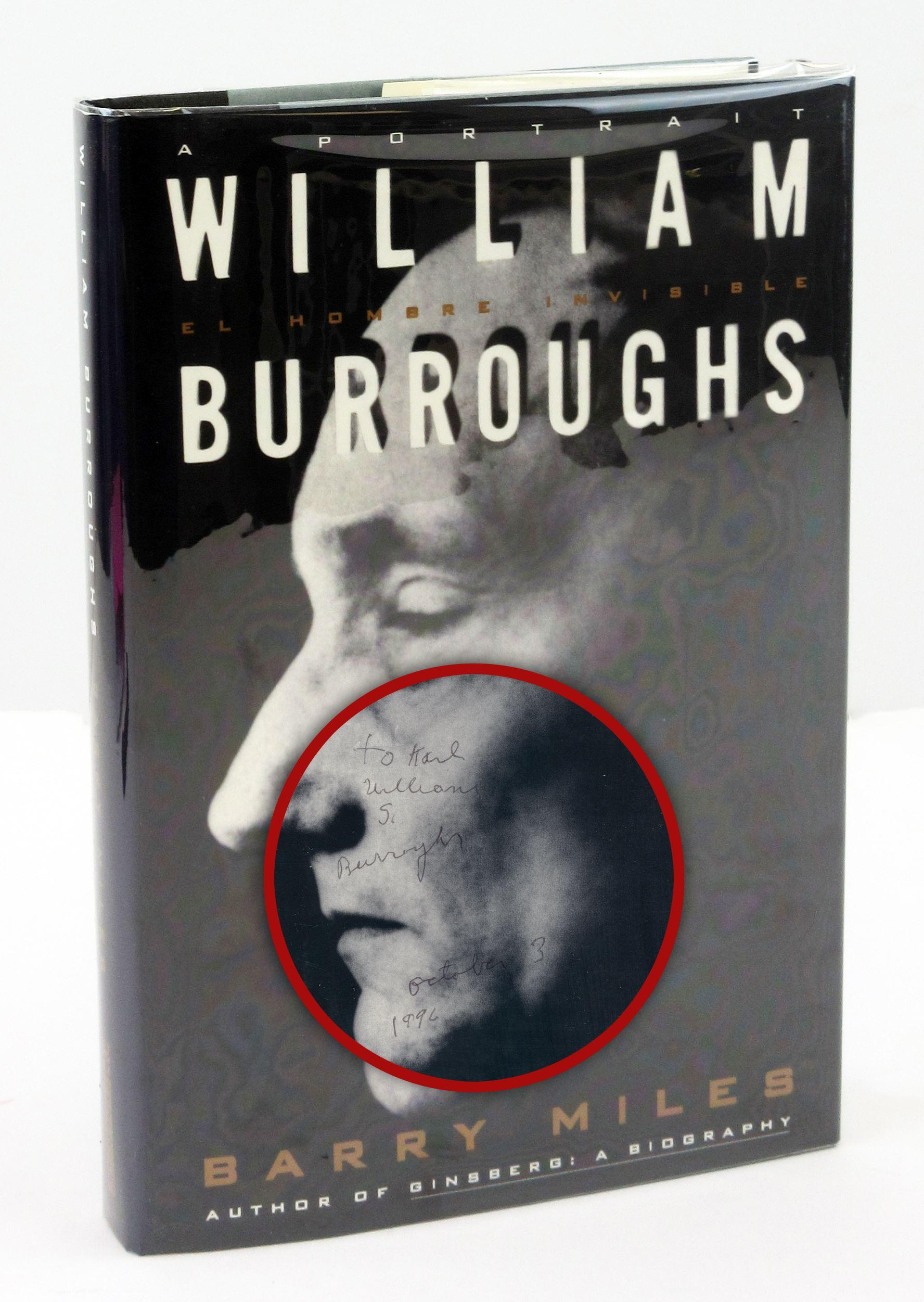 A Portrait of William Burroughs, Signed First Printing