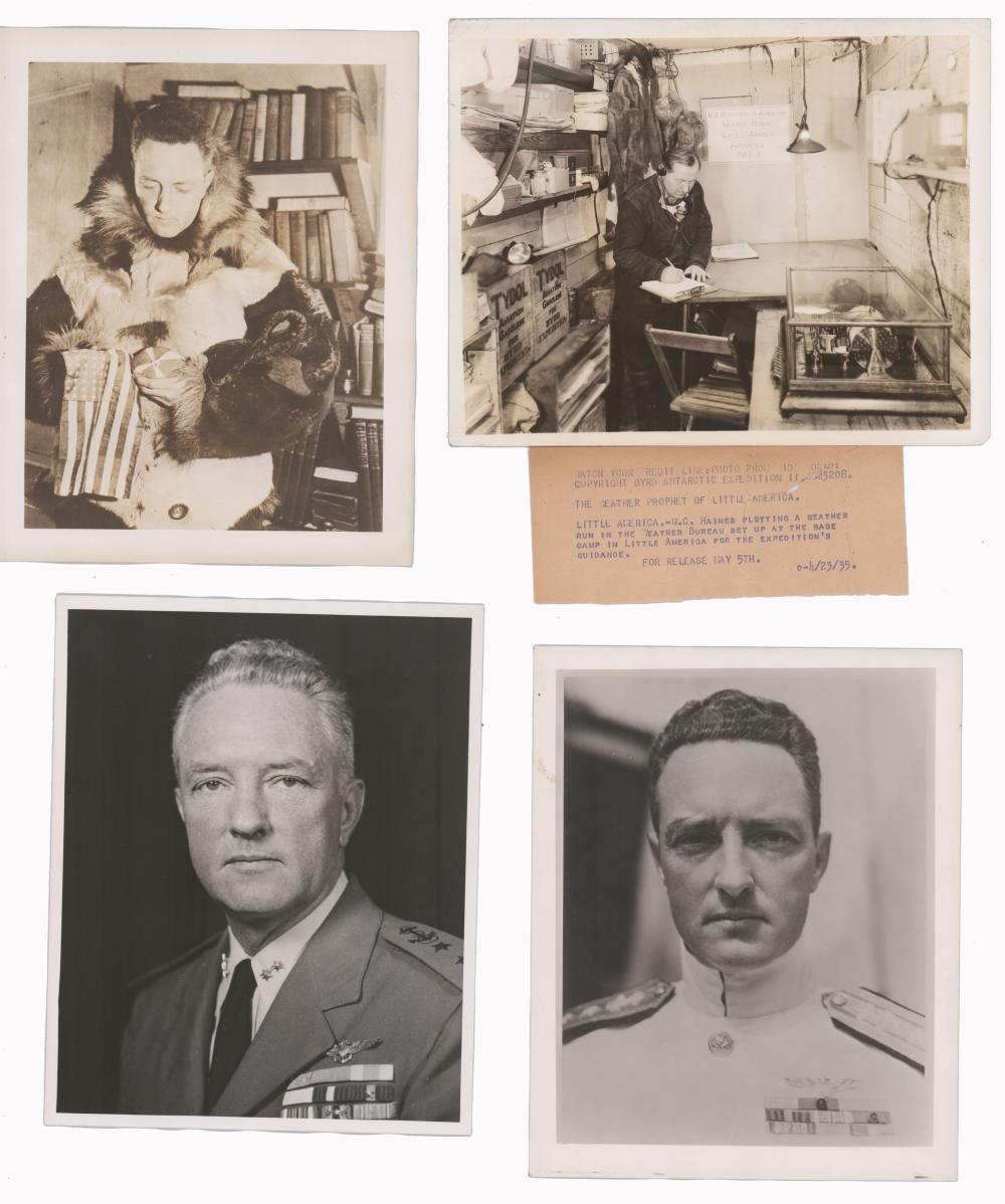 Admiral Richard Byrd Stunning Ten Photo Archive