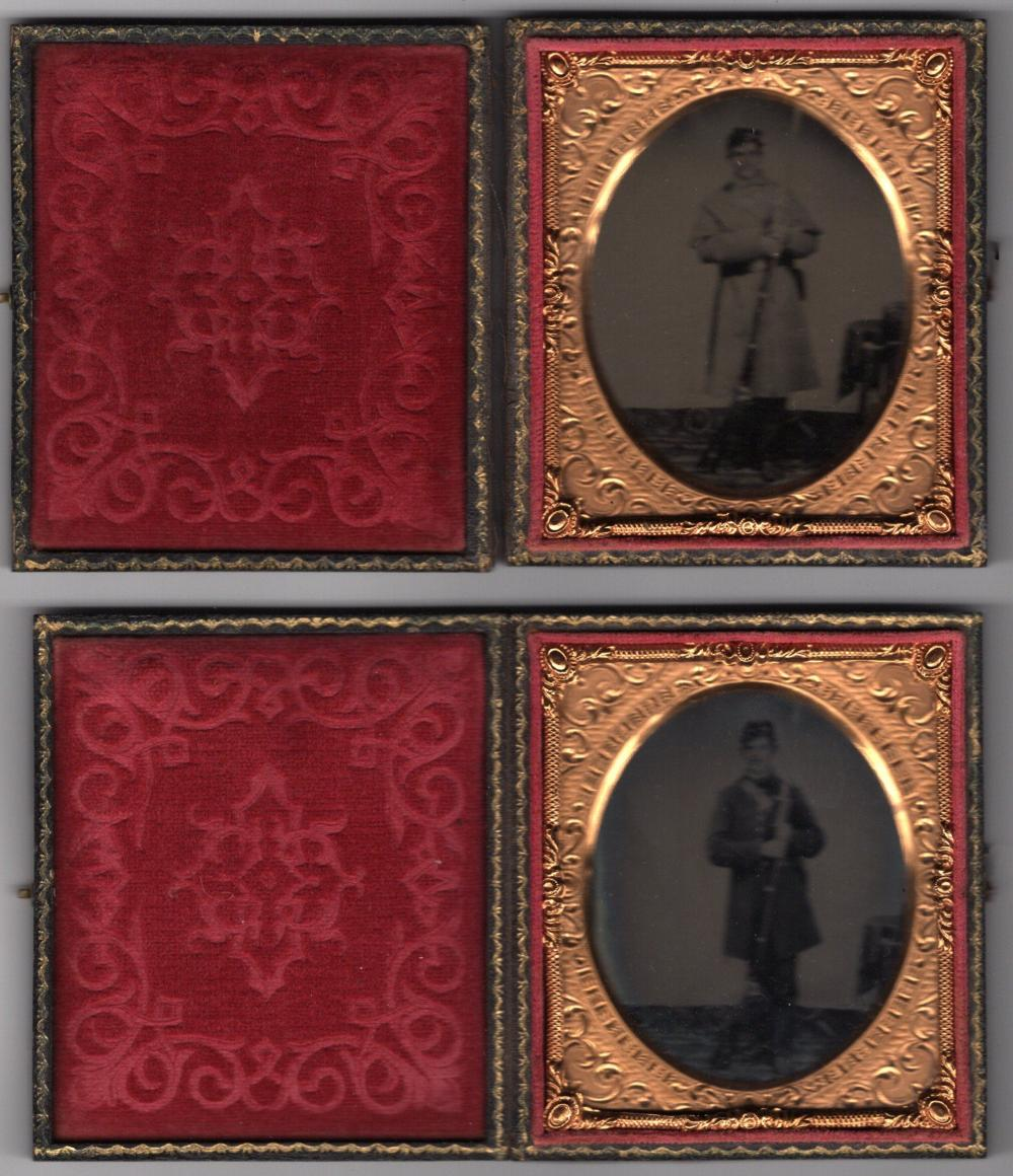 Collection of 7 Cased Images of Union Defenders