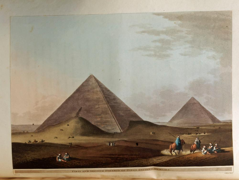"Mayer's Renowned ""Views in Egypt"" with 48 Splendid Hand Colored Folio Aquatints"