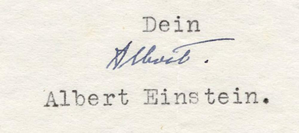 "Einstein God Letter, ""for God, too, the creation of the world must have been a pointless luxury"""