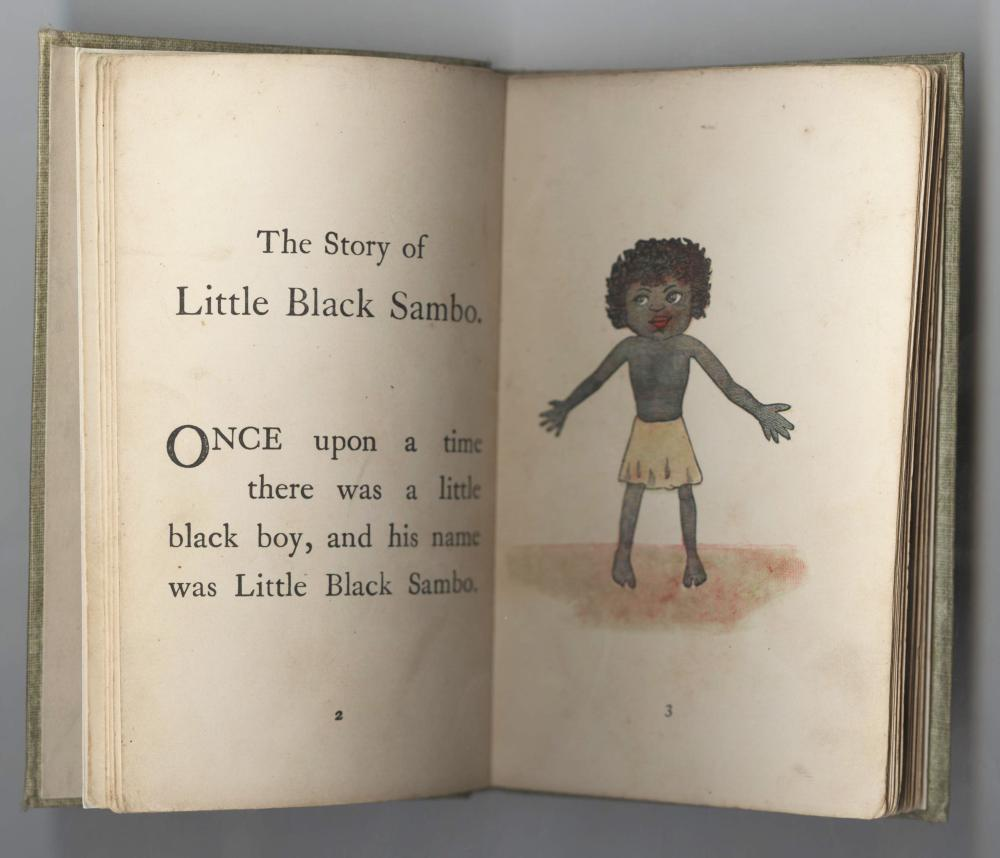 First Print, The Story Of Little Black Sambo, 27 Hand Color Engravings, Extremely Scarce