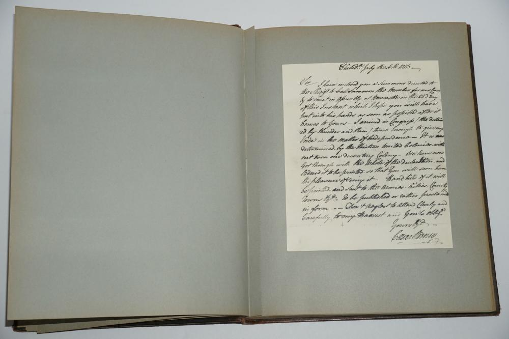 """""""The Documents On The Freedom Trail"""", Worlds Greatest Documents, Freedom Trail Facsimiles Presented to Truman's Treasury Secretary"""