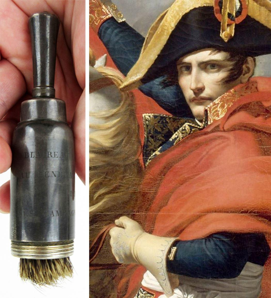 Napoleon's Personally Owned Shaving Brush, Used During the Italian Campaign, 1796-1797, Ex-Nicholson Collection