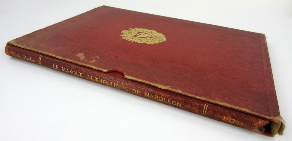 """Extremely Rare 1st Edition Copy of """"Authentic Mask of Napoleon,"""" Examining the Death Mask Controversy, Ex-Nicholson Napoleon Collection"""