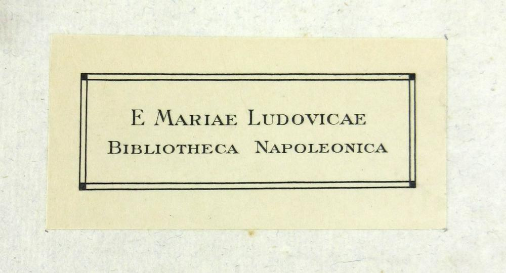 "Marie Louise, Napoleon's 2nd Wife, Personally Owned Copy of ""Biography of Contemporaries, by Napoleon,"" Ex-Nicholson Napoleon Collection"