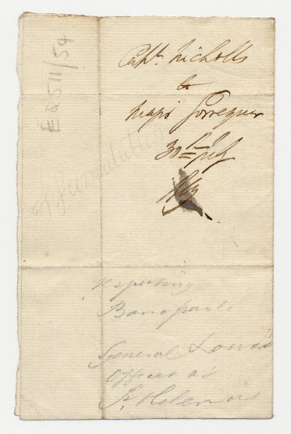 "Napoleon Captivity-Era St. Helena Archive Incl. Spy's Report on ""General Bonaparte,"" Ex-Nicholson Napoleon Collection"