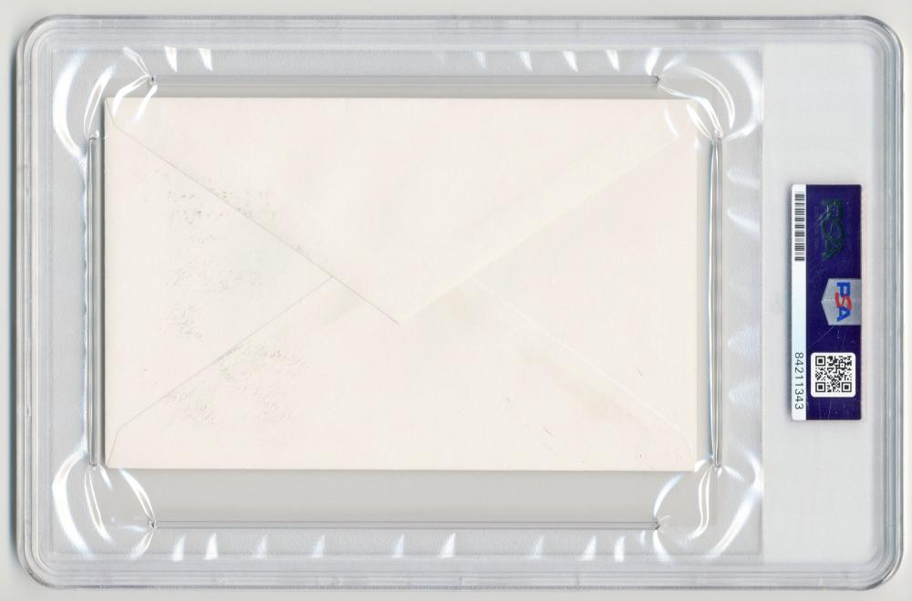 "George W. Bush Signed ""White House"" Envelope, PSA/DNA Slabbed & Graded Mint 9!"