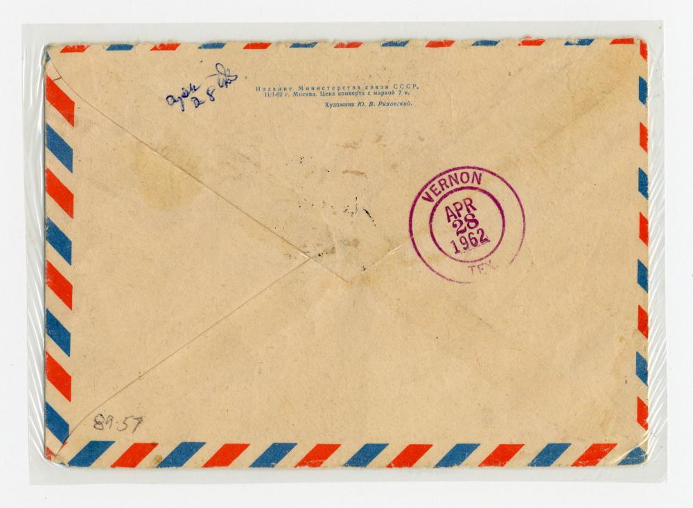 Lee Harvey Oswald 2x Signed Envelope