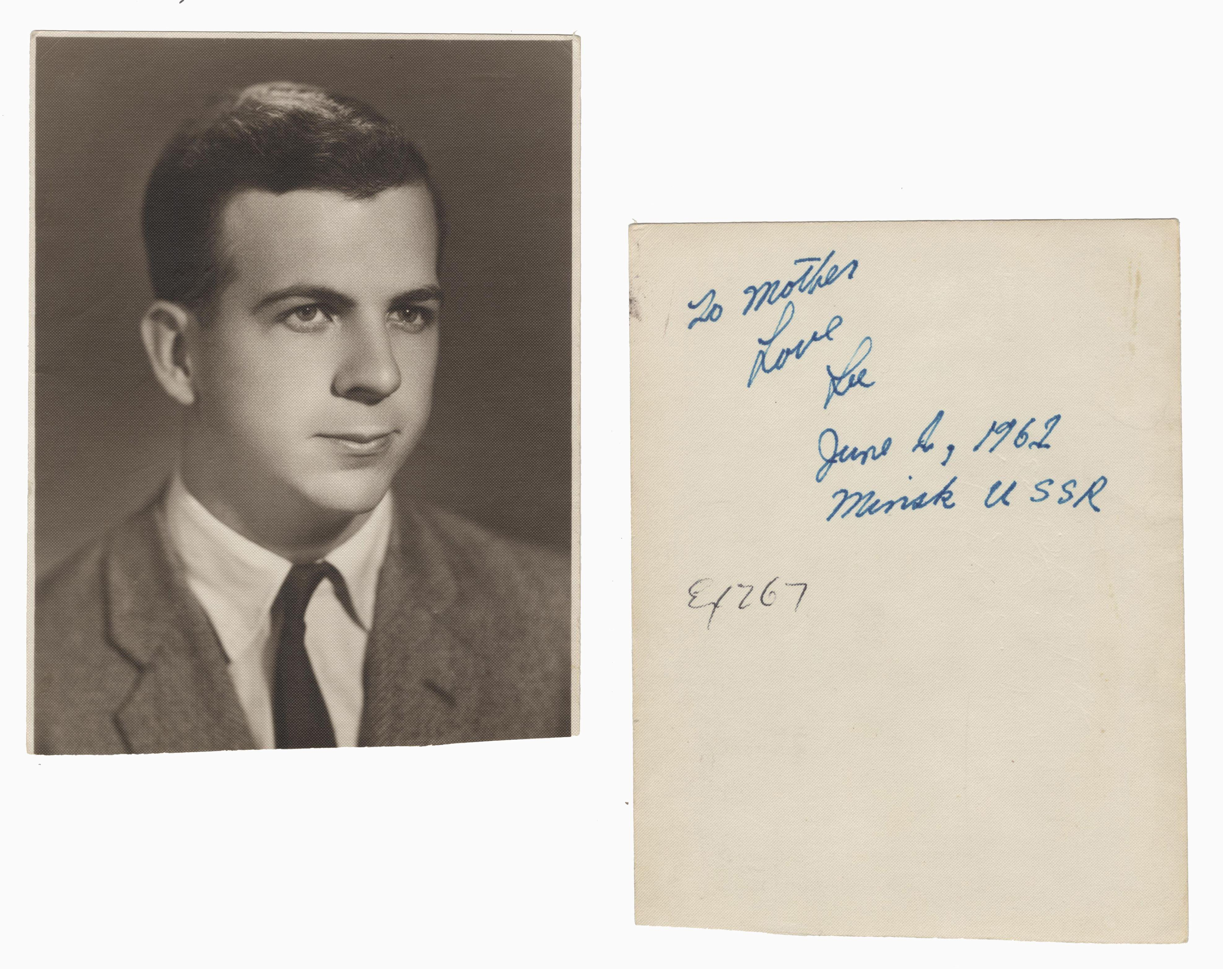 Incredible Lee Harvey Oswald Signed Photograph, Scarce, One of Only a Few!