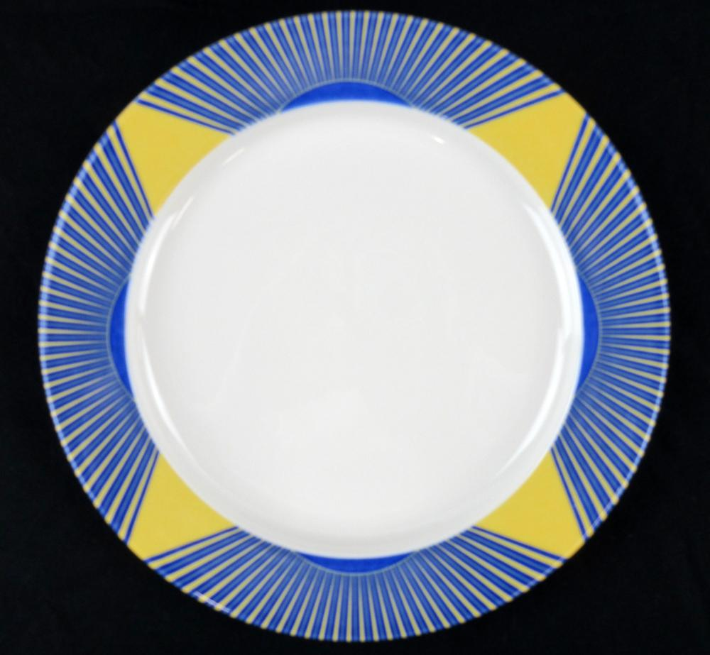 """World Trade Center """"Windows on the World"""" Restaurant Dishware, 4 Pcs; Avoided Destruction by Being Used at a Private Dinner Party Right Before 9/11"""