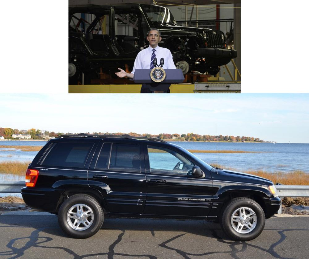 Barack Obama First New Vehicle Ever Owned, 2000 Grand Cherokee Limited, With Superb Chain of Custody!