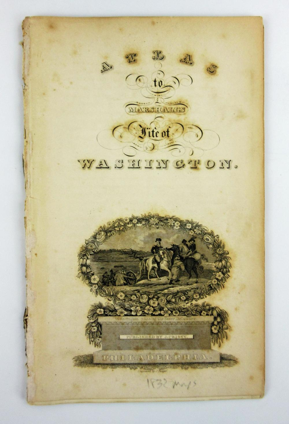 Marshall's Life of Washington, Best English Edition, 5 Quarto Volumes With Folding Maps & Plates