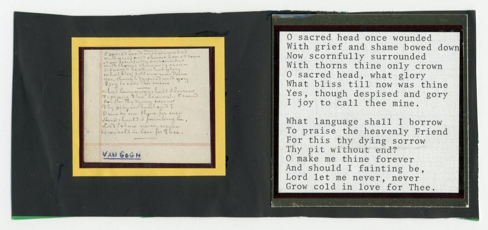 "Van Gogh Handwritten 115 Words, ""Yes, God is everywhere!"" -- the Rarest Artist Manuscript"