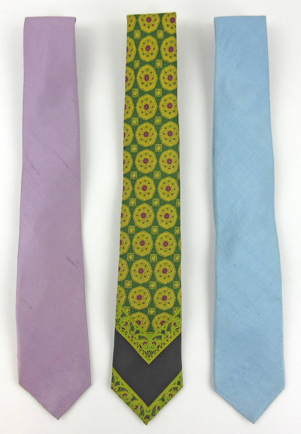 Jackie Kennedy ALS Mentioning Ties, Along with 3 of Oleg Cassini's Neckties