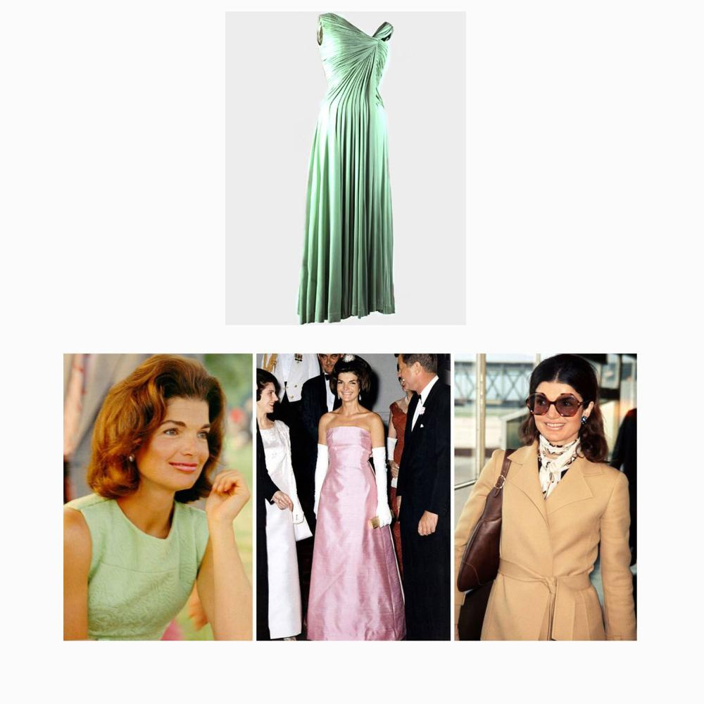 Jacqueline Kennedy Detailed Oleg Cassini Ledger of Fabric Samples, Including Poignant Entries Before and After Assassination