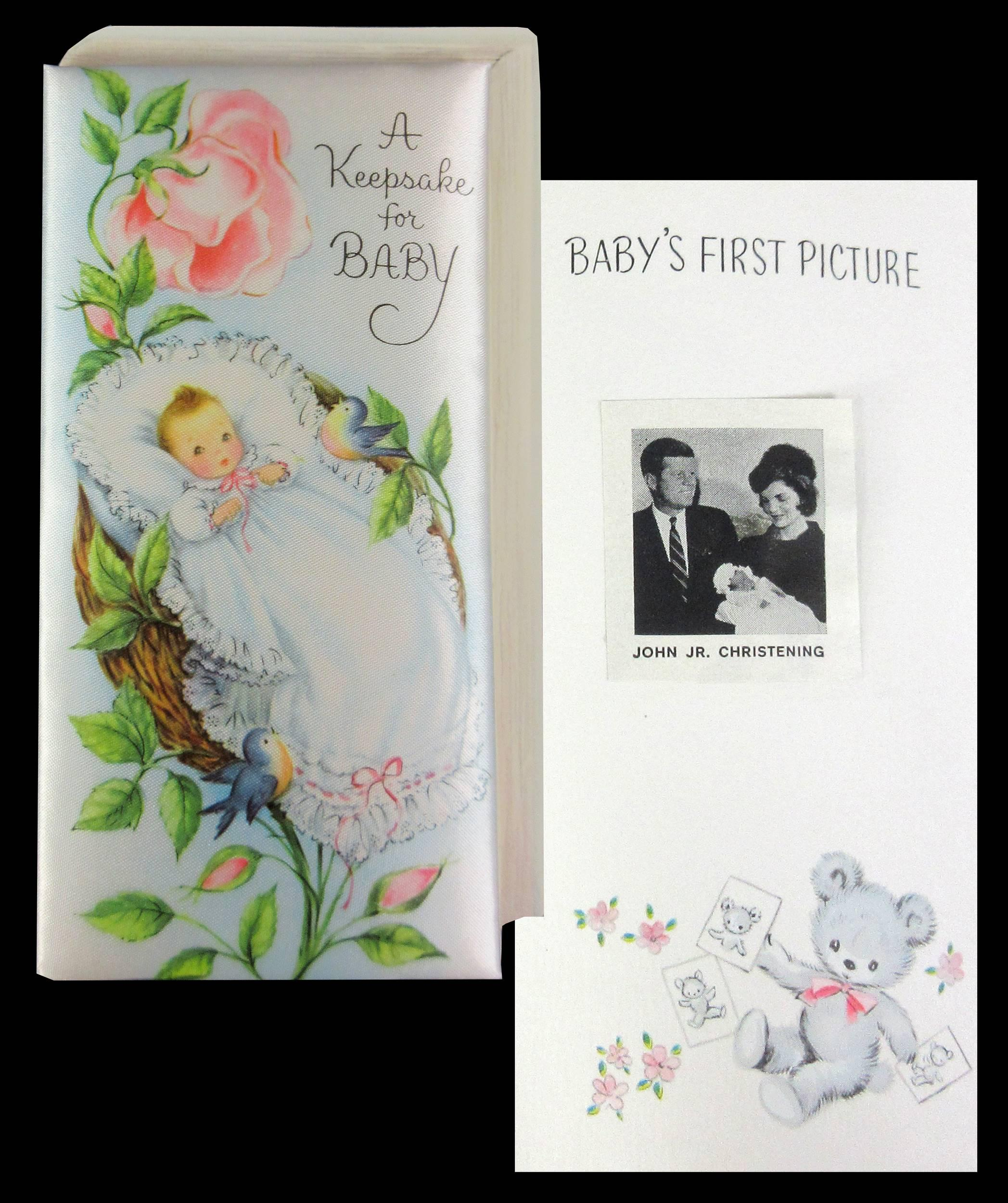 "JFK, Jr. ""A Keepsake for Baby"" Gift Given to Jacqueline & President Kennedy"
