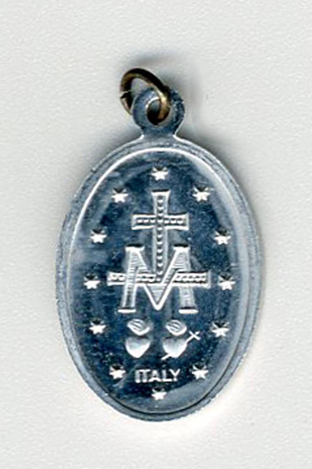 John F. Kennedy, Jr. Virgin Misericordia Religious Medal Received as Baby Gift